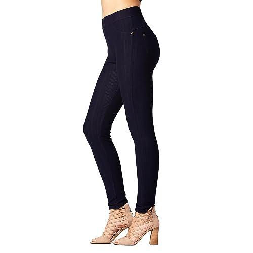 681959bed74431 Premium Jeggings - Denim Leggings - Full and Capri Length - Regular and  Plus Sizes