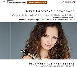 Decruck, Albright, Michat & Ibert: Saxophone Sonatas & Concertos