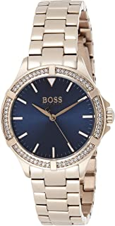 Hugo Boss Womens Quartz Wrist Watch, Analog and Stainless Steel- 1502468