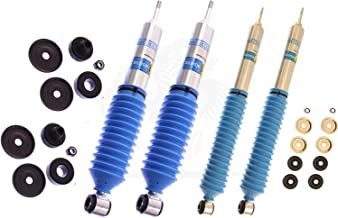 Bilstein B6 Series 4 Shocks Kit for 03-'12 Ford E-450 Super Duty Ride Monotube replacement Gas Charged Shock absorbers part number 33-187570, 33-176857