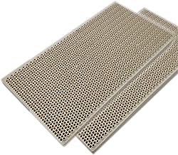 MIAOMIAO Propaan LPG Gas verwarming apparaat brander delen honingraat keramische plaat 145 * 75 * 14mm hoge brandendeffici...