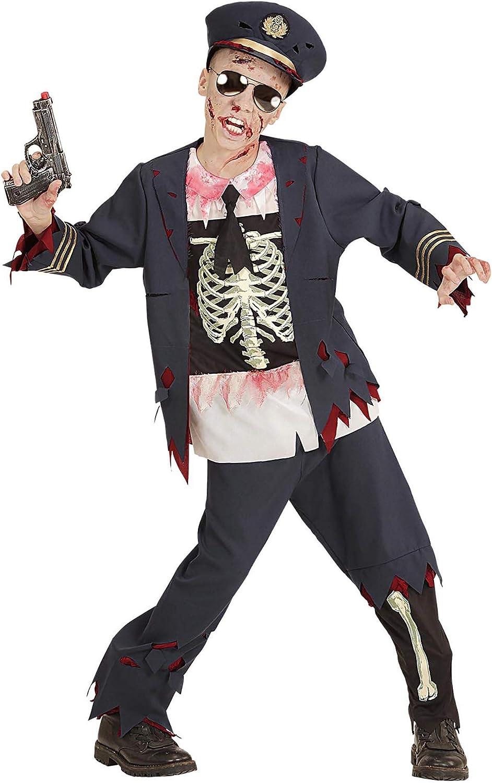 WIDMANN Disfraz Para Niños Zombie Policía