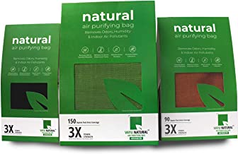 Breathe Fresh Vayu Natural Air Purifying Bags Odour, Allergens and Pollutants Remover, Total Home Protection Pack