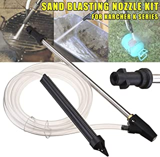 Sala-Ctr - Portable Sand Blaster Wet Blasting Washer Sandblasting Kit For Karcher K Series High Pressure Washers Blasting Pressure Gun