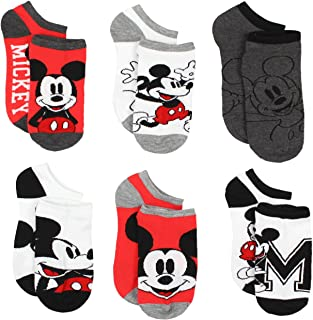 Mickey and Minnie Mouse Multi pack Socks (Toddler/Little Kid/Big Kid/Teen/Adult)