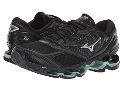 Mizuno Wave Prophecy 8 (Black/Silver) Women