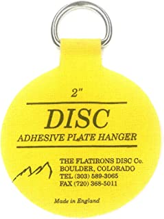 Flatirons Disc Adhesive Plate Hangers, 2 Inch, 4 Pack
