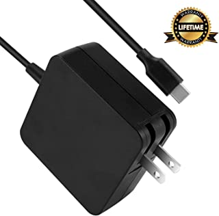 Type C AC Charger Fit for Lenovo ThinkPad L390 L480 L580 ThinkPad T580 T580S 4X20M26268 Type-C Laptop USB-C Cable Power Supply Adapter Cord