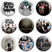 Bring Me The Horizon Pinback Buttons Pin Badges 1 Inch (25mm) - Pack of 9
