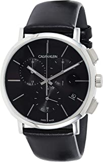 Calvin Klein Casual Watch For Men Analog Genuine Leather - K8Q371C1