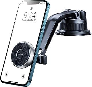 andobil Handyhalterung Auto Magnet Handyhalter fürs Auto 2020 Patent Design mit 6 Starke Magnete & 4 Metallplatte KFZ Handyhalterung für iPhone 11/SE 2020/Samsung S20/ S10/Note10/HUAWEI Xiaomi usw