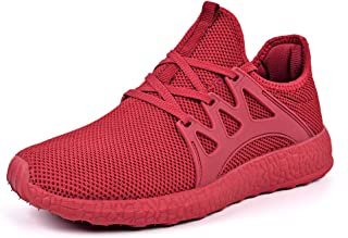 fc097fb2056b4e ZOCAVIA Mens Sneakers Ultra Lightweight Breathable Mesh Street Sport Gym Running  Walking Shoes