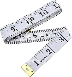 Cinta métrica de doble cara para medir el cuerpo y la