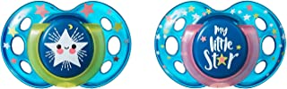 Tommee Tippee Closer to Nature Night Time Toddler Soothie Pacifier, 18-36 Months - 2 Count (Colors May Vary)