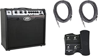 Peavey Vypyr VIP 2 Combo Guitar/Bass Modeling Amplifier + (2) 10' Cables + Sanpera I Foot Controller