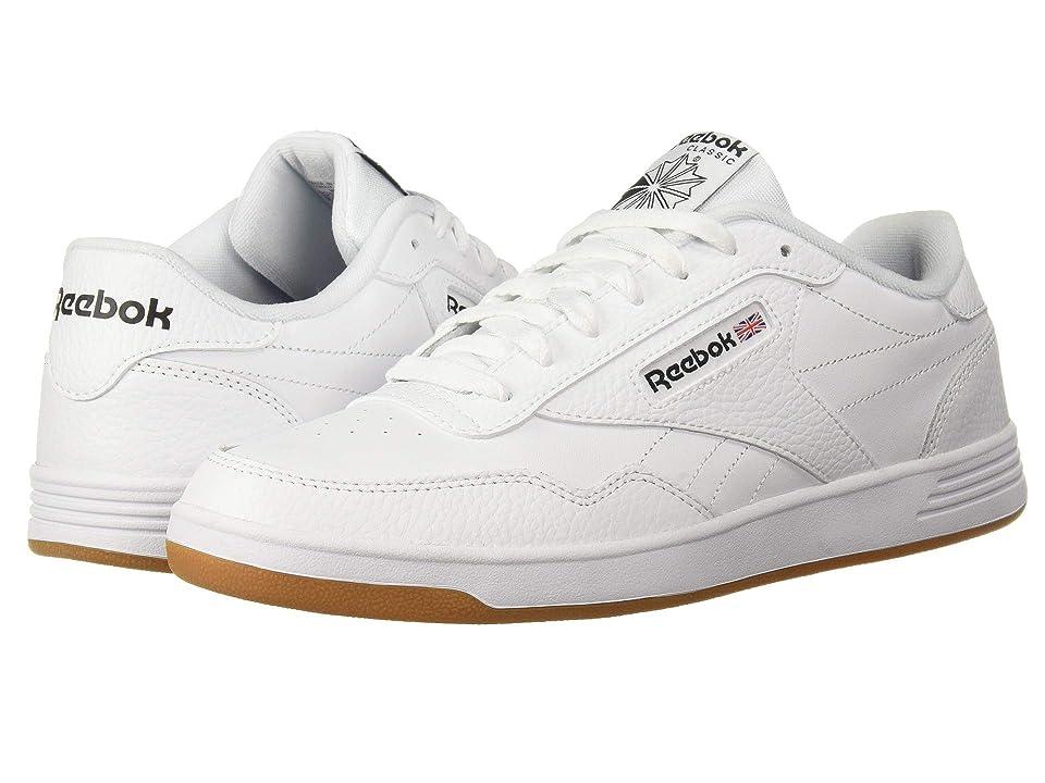 Reebok Club Memt (US-White Black Gum) Men s Classic Shoes d21068dd8
