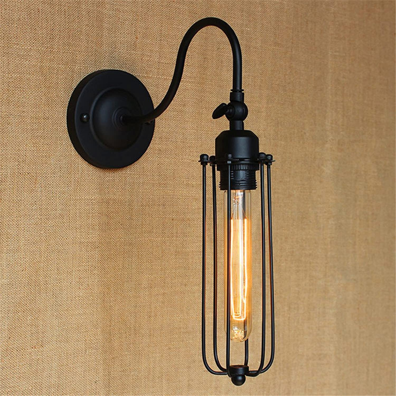 StiefelU LED Wandleuchte nach oben und unten Wandleuchten Landschaft auerhalb Wohnzimmer Beleuchtung Schlafzimmer RH, matt schwarze Kunst balkon Nachttischlampe Dekorative Wandleuchte