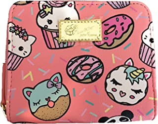 Luv Betsey by Betsey Johnson Unicorn Cat Cupcakes and Donuts Zip Wallet