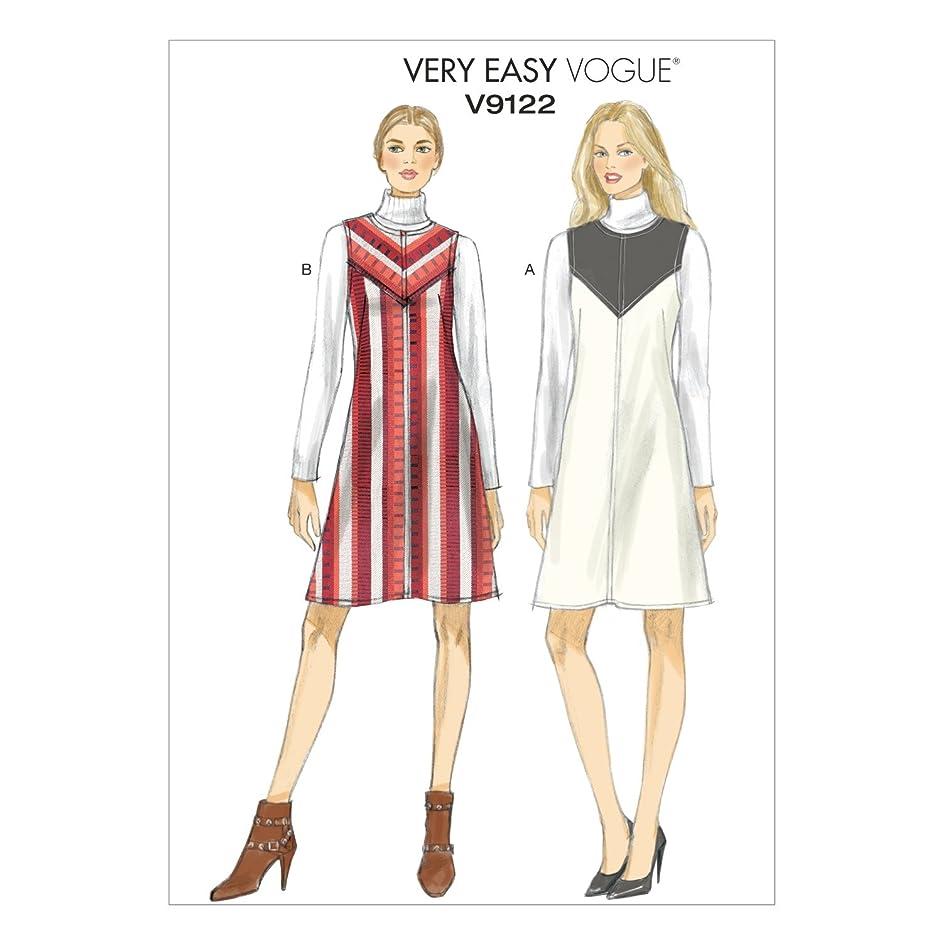 Vogue Patterns V9122 Misses' Jumper, Size A5 (6-8-10-12-14)