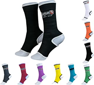 Ankle Supports - Dragon Do -Muay Thai, Boxing, Kickboxing, MMA Different Colors