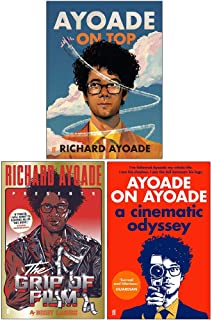 Richard Ayoade Collection 3 Books Set (Ayoade On Top [Hardcover], The Grip of Film, Ayoade on Ayoade)