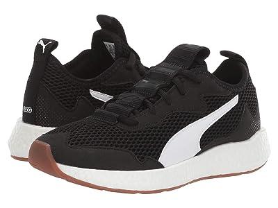 Puma Kids NRGY Neko Skim (Big Kid) (PUMA Black/White) Boys Shoes