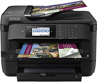 Epson WorkForce WF-7720 Wireless Wide-format Color Inkjet Printer with Copy, Scan, Fax, Wi-Fi Direct and Ethernet, Amazon ...