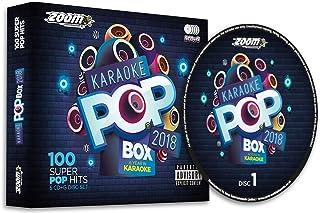 Zoom Karaoke Pop Box 2018: A Year In Karaoke - Party Pack - 5 CD+G Box Set - 100 Songs