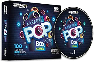 Zoom Pop Box 2018: A Year In Party Pack G 100 Songs