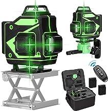 yongke Ferramenta multifuncional de nível de laser de 16 linhas Linhas horizontais verticais com função de autonivelamento...