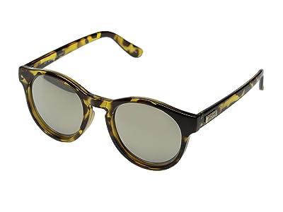 Le Specs Hey Macarena (Syrup Tort/Gold Revo Mirror) Fashion Sunglasses