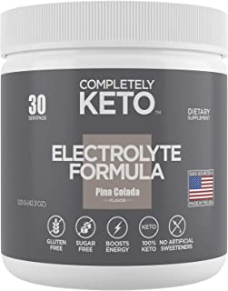 Completely Keto Electrolyte Formula – Keto Powder for Weight Loss Support – Keto Supplement to Prevent 'Keto Flu' – Electr...