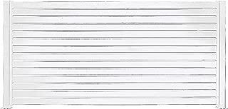 """Stratco Aluminum Slat Fencing Kit (White) 94"""" x 71"""