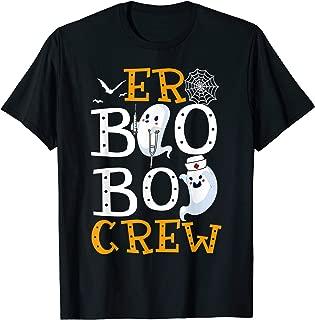 Er Boo Boo Crew Nurse Halloween Gift T-Shirt