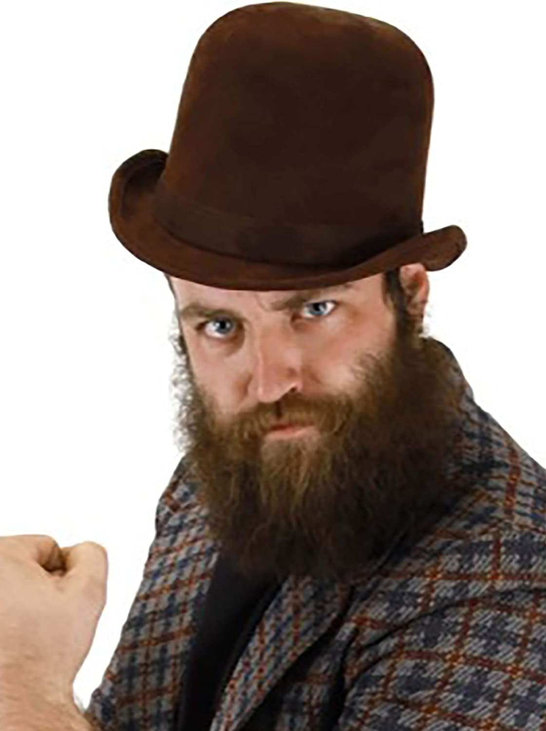 Max 84% OFF Tall Our shop OFFers the best service Brown Steampunk Derby Costume Hat Bowler