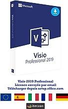 Visio 2019 Professional Plus (ESD) Electronic Software Delivery de licence originale par e-mail + Instructions iteczon