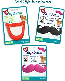 Best dog moustache chew toy Reviews