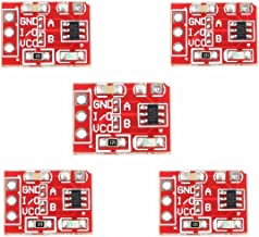 ARCELI 5Pcs 2.5-5.5V TTP223 Capacitive Touch Switch Button Self-Lock Module Arduino