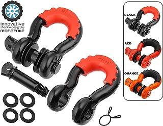 motormic D Ring Shackles 2pc - 3/4