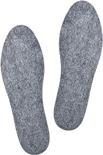 comprar comparacion Knixmax Plantillas Fieltro de Lana para Hombre Mujer, para Zapatillas Deportivas, Zapatos de Planos y Trabajo, Confortable...