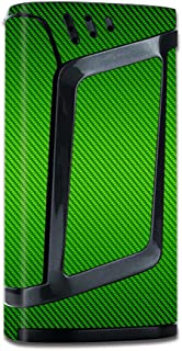 Skin Vinyl Decal for Smok Alien 220W TC Vape Mod / with Grip-Guard Technology stickers skins cover/ Lime Green carbon fiber graphite