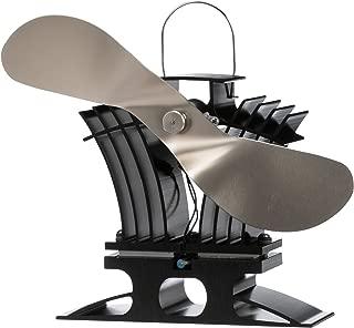 Caframo BelAir Low Temp Stove Fan, Nickel Blade