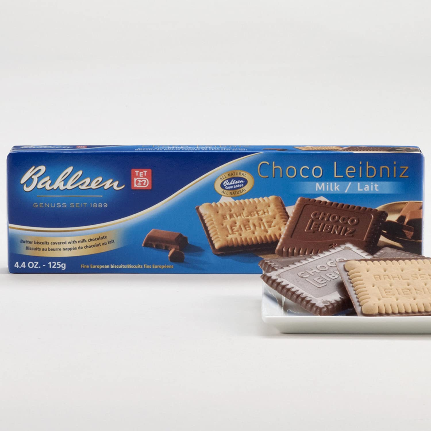 Bahlsen Max 68% OFF Leibniz Milk Chocolate Cookies Ranking integrated 1st place 4.4 Pack OZ of 3