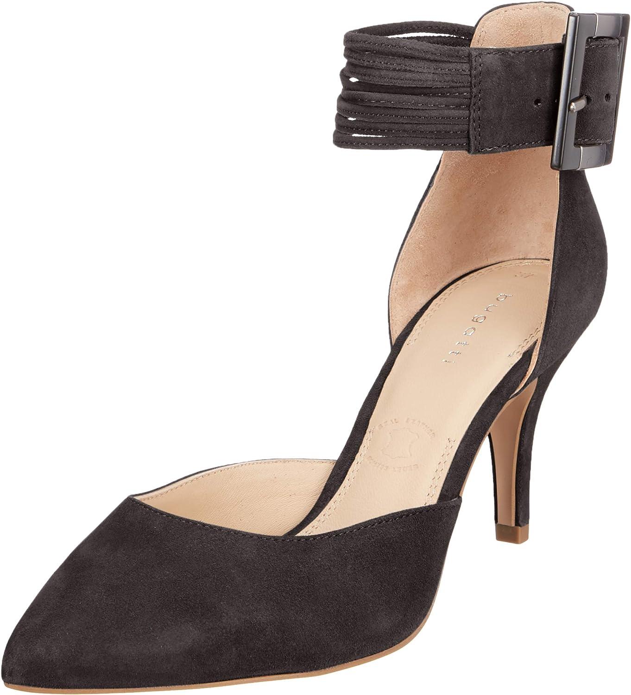 bugatti Women's 411688703400 Ankle Strap Sandals Schwarz Superlatite Black Free Shipping Cheap Bargain Gift