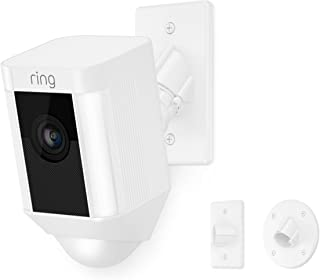 Ring Spotlight Cam Mount HD Security Camera, White