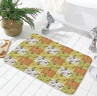 YOLIYANA Non-Slip Mat,Ladybugs,for Bathroom Kitchen Bedroom,19.69