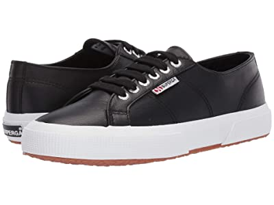 Superga 2750 Nappaleau Sneaker (Black) Women