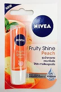 Nivea Fruity Shine Peach Lip Moisturizer x 6 Packs
