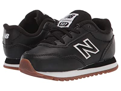 New Balance Kids 527 (Infant/Toddler) (Black/Munsell White) Boy