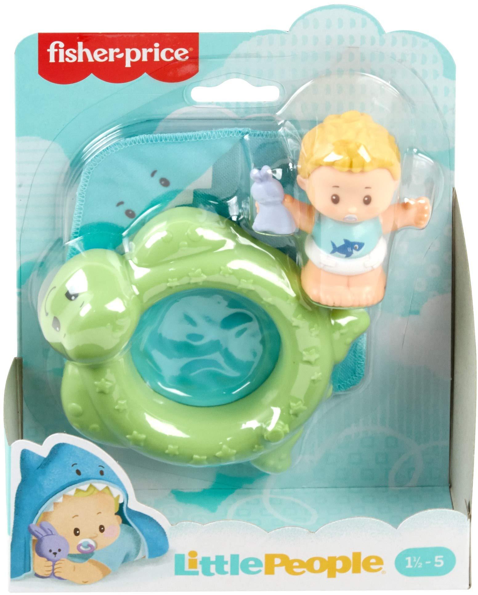 Little People Bundle /'n Play Baby FIgure and swim pool *pkg damage*